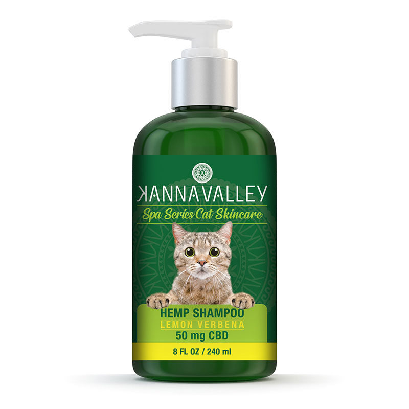 Champú de CBD para gatos de KannaValley