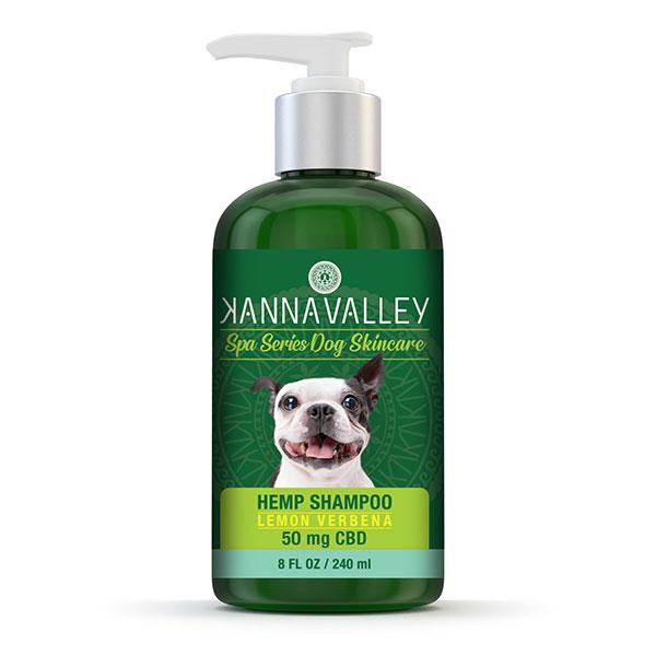 Champú de CBD para perros de KannaValley